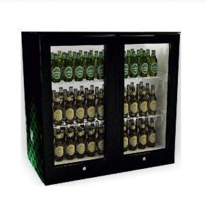 Sanden Intercool ICG-208 (200lit) Επιτραπέζιο Ψυγείο Βιτρίνα Συντήρησης με 2 πόρτες