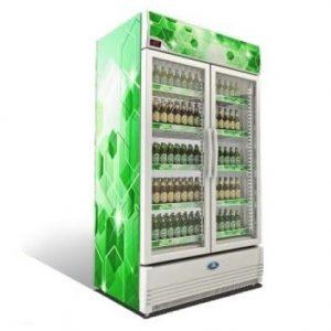 Sanden Intercool SPE-1003 (1000lit) Sub Zero Επαγγελματικό Ψυγείο με 2 Πόρτες