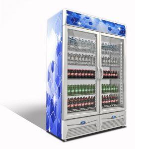 Sanden Intercool SPA-0903 (810lit) Επαγγελματικό Ψυγείο με 2 Πόρτες